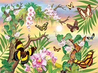 Butterflies Up IN The Canopy Fine Art Print