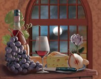 Chianti By Moonlight Fine Art Print