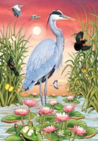 Great Blue Heron Fine Art Print