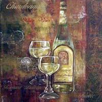 Chardonnay Lettered Fine Art Print