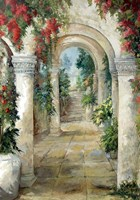 The Arched Entrance Fine Art Print