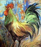 The Gentleman Rooster Fine Art Print