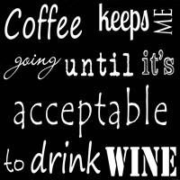 CoffeeTill Wine Fine Art Print