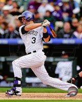 Michael Cuddyer 2014 Batting Action Fine Art Print