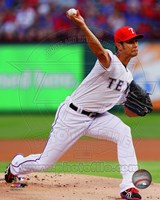 Yu Darvish 2014 in Action Fine Art Print