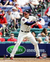 Freddie Freeman 2014 Action Fine Art Print