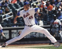 Zack Wheeler Pitching Baseball Fine Art Print