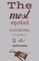 The Most Important Cooking Utensil Fine Art Print