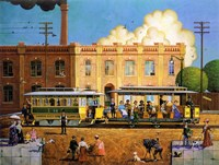 Kansas City Cable Railway Fine Art Print
