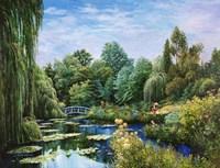 Monet Garden I Fine Art Print