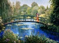 Monet Garden II Fine Art Print