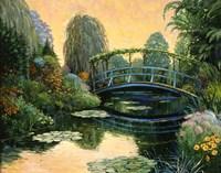 Monet Garden III Fine Art Print
