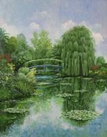 Monet Garden IV Fine Art Print