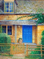 The Blue Door Fine Art Print
