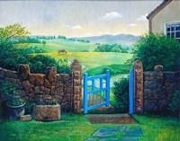 The Blue Gate Fine Art Print