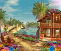 Island Dreams Fine Art Print