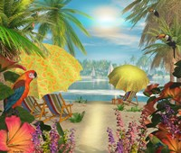 Tropical Delight Fine Art Print