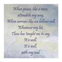 It Is Well With My Soul Fine Art Print