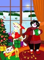 Christmas Decorations Fine Art Print