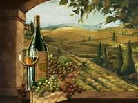 Vineyard Window II Fine Art Print