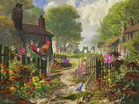 The Little Village Fine Art Print