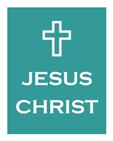 Jesus Christ Cross Fine Art Print