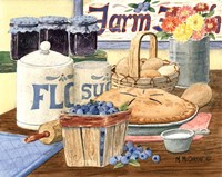 Blueberry Pie Fine Art Print