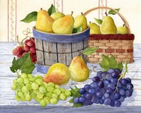 Grapes & Pears Fine Art Print
