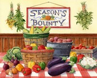 Season's Bounty Fine Art Print