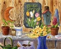 Think Spring Fine Art Print