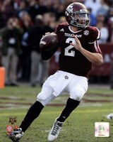 Johnny Manziel Texas A&M Aggies 2013 Fine Art Print
