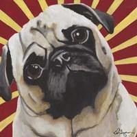 Dlynn's Dogs - Puggins Fine Art Print