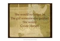 She V Fine Art Print