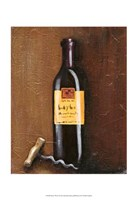 Rustic Wine I Fine Art Print