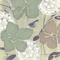 Serene Pastels II Framed Print