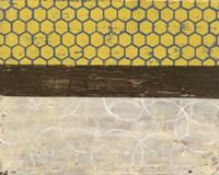 Honey Comb Abstract II Framed Print