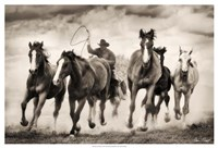 The Chase I Fine Art Print
