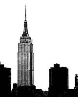 NYC Skyline I Framed Print