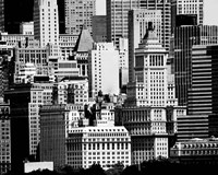NYC Skyline IX Framed Print
