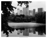 NYC Skyline X Framed Print