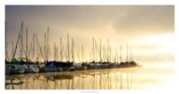 Marina Morning I Framed Print