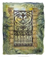 Iron Gate I Fine Art Print