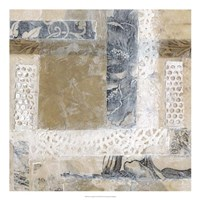 Lace Collage II Framed Print