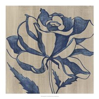 Indigo Rose Fine Art Print