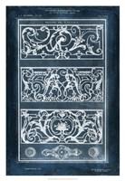 Ornamental Iron Blueprint II Framed Print