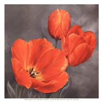 Spring Trio II - mini Fine Art Print