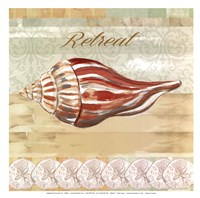 Coastal Composition II - mini Fine Art Print
