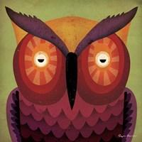 Owl WOW Framed Print