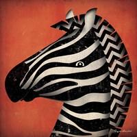 Zebra WOW Fine Art Print