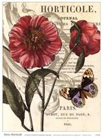 Paris Horticole Fine Art Print